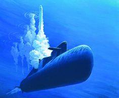 submarine Russian Submarine, Nuclear Submarine, Ballistic Missile, United States Navy, Navy Ships, Submarines, Aircraft Carrier, Military Art, War Machine