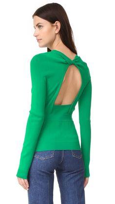 Rochas Long Sleeve Sweater