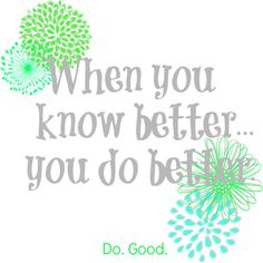 Back to School Fall Clean Up - When you know better, you do better.  Do. Good. l Fresh Idea Studio
