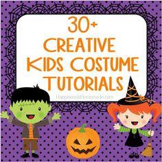 30+ Creative DIY Kids Halloween Costumes - Happiness is Homemade