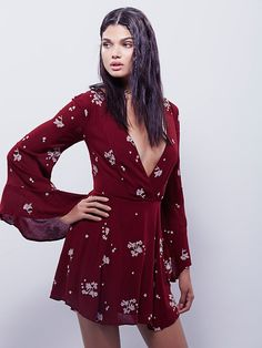 81622862d6a Free People Jasmine Embroidered Dress at Free People Clothing Boutique Fall  Dresses
