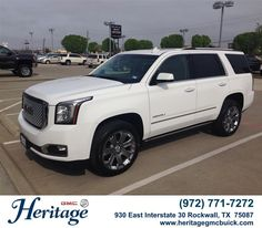 Congratulations to Mark Medcalf on your #GMC #Yukon purchase from Quentin Derossett at Heritage Buick GMC! #NewCar