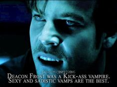 """""""Deacon Frost was a Kick-ass vampire. Sexy and sadistic vamps are the best. Blade Film, Blade Movie, Hot Vampires, Vampires And Werewolves, Blade Marvel, Very Scary, Supernatural Fans, Fear The Walking Dead, Lost Boys"""