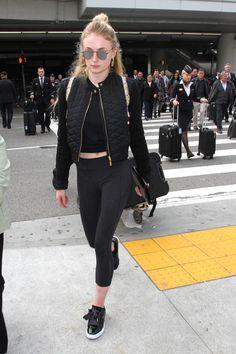 Sophie Turner at LAX