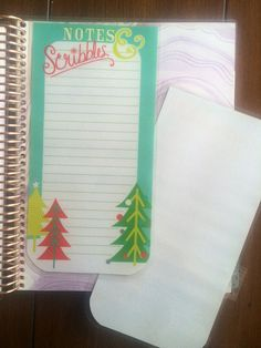 Christmas List Dashboard for Erin Condren Life by HayloPlanning