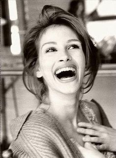 Julia Roberts  Her joy is contagious!