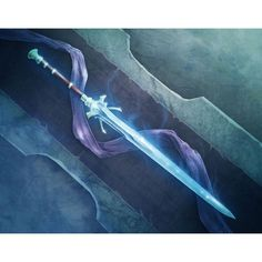 water sword - Google Search | Weapons | Pinterest ❤ liked on Polyvore featuring weapons and powers