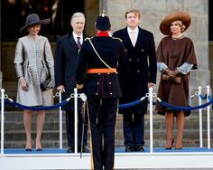 Upon the invitation of King Willem-Alexander and Queen Maxima of Netherlands, King Philippe and Queen Mathilde of Belgium visit The Netherlands. King Philippe and Queen Mathilde officially welcomed by King Willem-Alexander and Queen Máxima at the Dam Square on November 28, 2016 in Amsterdam. According to the programme, the state visit starts on November 28 and ends on November 30, 2016.