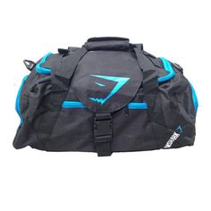GymShark Legacy Holdall - Blue Accessories | GymShark International | Be a…