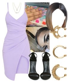 """""""💕✨"""" by foreverkaylah ❤ liked on Polyvore featuring Charlotte Russe, Crislu and Shoe Cult"""