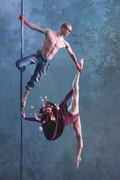 duo chinese pole - Stina Photography