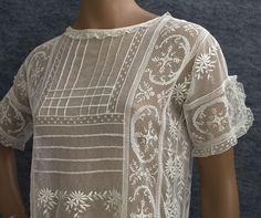 Fillet lace dress 3