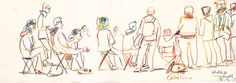 https://flic.kr/p/y6zBZc | USK Treffen Darmstadt - Workshop - © Detlef Surrey | Urban Sketchers Deutschland Treffen Darmstadt 2015 - Workshop Catalina Somolinos - © Detlef Surrey  surrey-skizzenblog.blogspot.de/2015/09/urban-sketchers-tr...