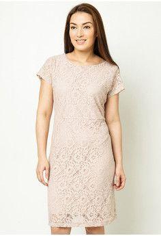 Love Curves Clothing By Jgo Lace Sheath Dress #onlineshop #onlineshopping #lazadaphilippines #lazada #zaloraphilippines #zalora