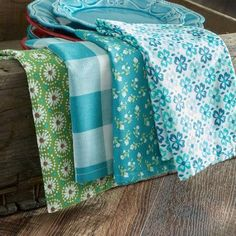 The Pioneer Woman Flea Market Napkin Set, 8pk, Teal - Walmart.com  ~ Great pin! For Oahu architectural design visit http://ownerbuiltdesign.com