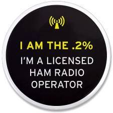 I am the .2% - I'm a licensed ham radio operator. Wonder how long before this appears on Zazzle?