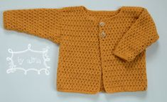 Crochet Baby, Knit Crochet, Baby Vest, Baby Born, Baby Kind, Crochet Clothes, Little Ones, Kids Outfits, Crochet Patterns