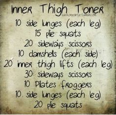 These do work, done them before lost 3 inches in my inner thighs in a matter of 2 and a half weeks ^^ if your in a 7/8 or 5/6 range of pants