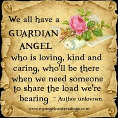 We all have a guardian angel