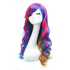 80cm Cosplay Gelockt Lang Perücke Voll Wig (Regenbogenfarben) Dazone http://www.amazon.de/dp/B0199ENEDC/ref=cm_sw_r_pi_dp_8xhLwb0FXDM7A