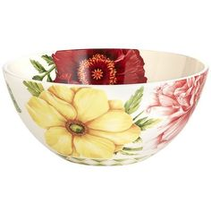 Floral Medley Serving Bowl