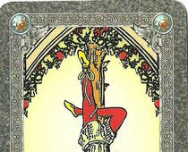 Getting the most from traveling.... a lesson of the Hanged Man in tarot