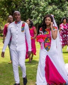 Tsonga Traditional Dresses, South African Traditional Dresses, African Wedding Attire, African Weddings, Most Beautiful Black Women, Traditional Wedding Attire, Matching Couple Outfits, African Dress, African Fashion