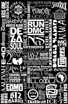 Who's your favorite hip hop artist of all time?                              …