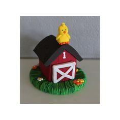 Farm Party Invitations 8pk Multicolor