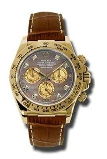 """""""Features & Benefits"""" Rolex Daytona automatic-self-wind mens Watch 116518 DKYMBR (Certified Pre-owned)"""