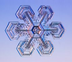 Snowflakes are ice-crystals, a particular form of water ice .Ice-crystals are appear as clear glass but more fragile. Several factors affect snowflake formation.