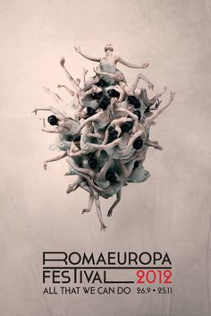 Fondazione Romaeuropa is one of the most prestigious italian and european institution that promotes art, theater, dance and contemporary music. #poster #design