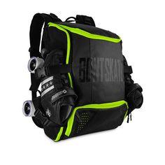 Bag Skate, Skate Backpack, Inline Speed Skates, Air Ventilation, Backpacker, Custom Shoes, Quad, Helmet, Pouch
