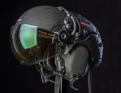 BAE Systems just unveiled its latest combat pilot's Striker II HMD helmet, with Superior Tracking and Night Vision. Images © BAE Systems The BAE Systems Striker… Cyberpunk, Music Gadgets, Mechanical Art, Fighter Pilot, Aircraft Design, Body Armor, Air Show, Design Reference, Tactical Gear