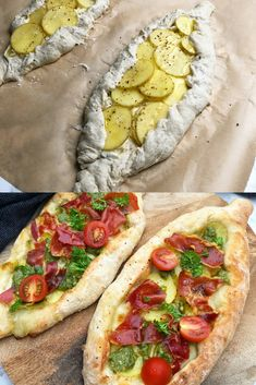 Pizza Taco, Pizza Snacks, Pesto Pizza, I Love Food, Good Food, Yummy Food, Food N, Food And Drink, Veggie Recipes
