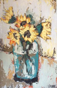 Paintings by Lauren Dunn (Elle Dee studio) love this one