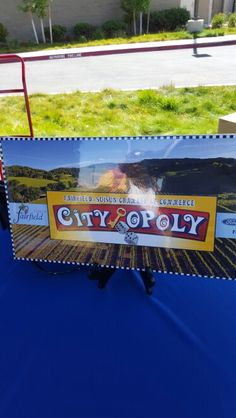 City of Fairfield Ca,  City Opoly Board Games for sale. Visit Fairfield Suisun Chamber of Commerce to purchase.