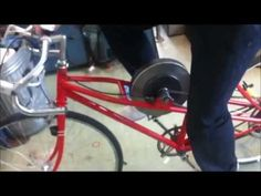 KERS bicycle technology university project at AIT - YouTube