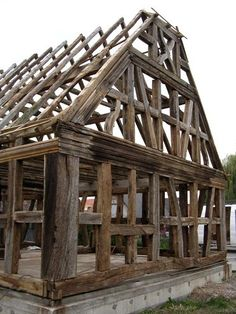 Colombage Monumental Architecture, Timber Architecture, Architecture Details, Oak Framed Buildings, Timber Buildings, Trailer Casa, Luxury Modern Homes, Medieval Houses, Gate House