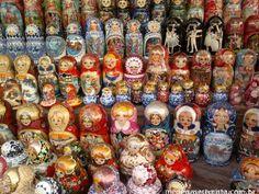 Conheça o mercado de Izmaylovsky, onde você pode comprar as bonecas russas, matrioskas, e muitas coisas bacanas (e baratas) em Moscou, na Rússia