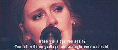 Adele ~ Dont You Remember