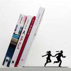 Bookends-- how fun is this?!??