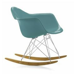 The Eames Rocking Chair Combined with RAR Rockers for Greater Comfort. Available in Several Colours.