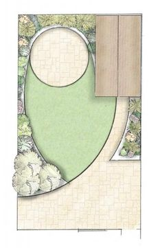 You know you're a math teacher when you look at an actual garden design and decide it would be a good example for scale drawings....