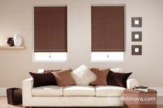 ¿Tu hogar tienes un estilo moderno? ¿a tu hogar le llega mucho sol? dale estilo y protege tu hogar, con las cortinas estilo Roller. www.finisnova.com