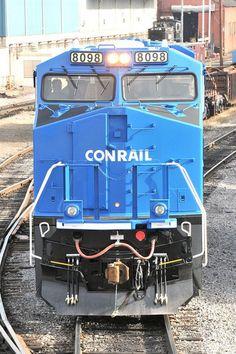 "First Norfolk Southern ""Conrail Heritage"" Locomotive."