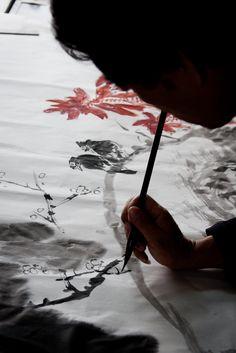 taoist monk   Kaleidoscope: Calligraphy Painting 3
