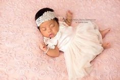 Exclusive crystal baby headband -Newborn Photography