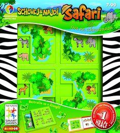 Smartgames hlavolam Safari: Schovej a najdi