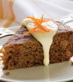 Carrot Cake with Cream Cheese Honey Drizzle